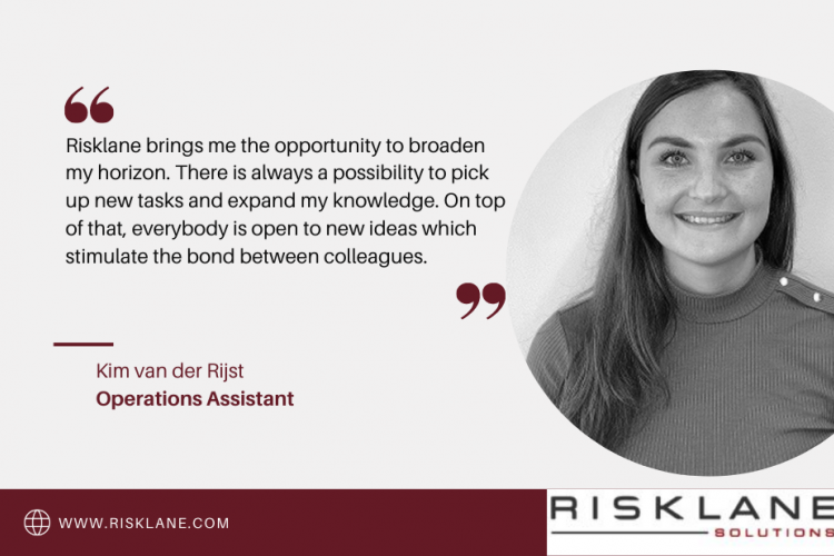 Meet our colleague: Kim van der Rijst